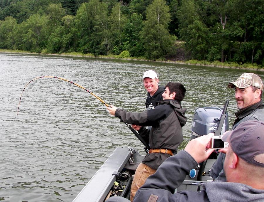 Shad sturgeon 31 kingfisher adventures for Sturgeon fishing washington